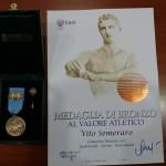 Medaglia Di Bronzo al Valore Atletico per Vito Semeraro