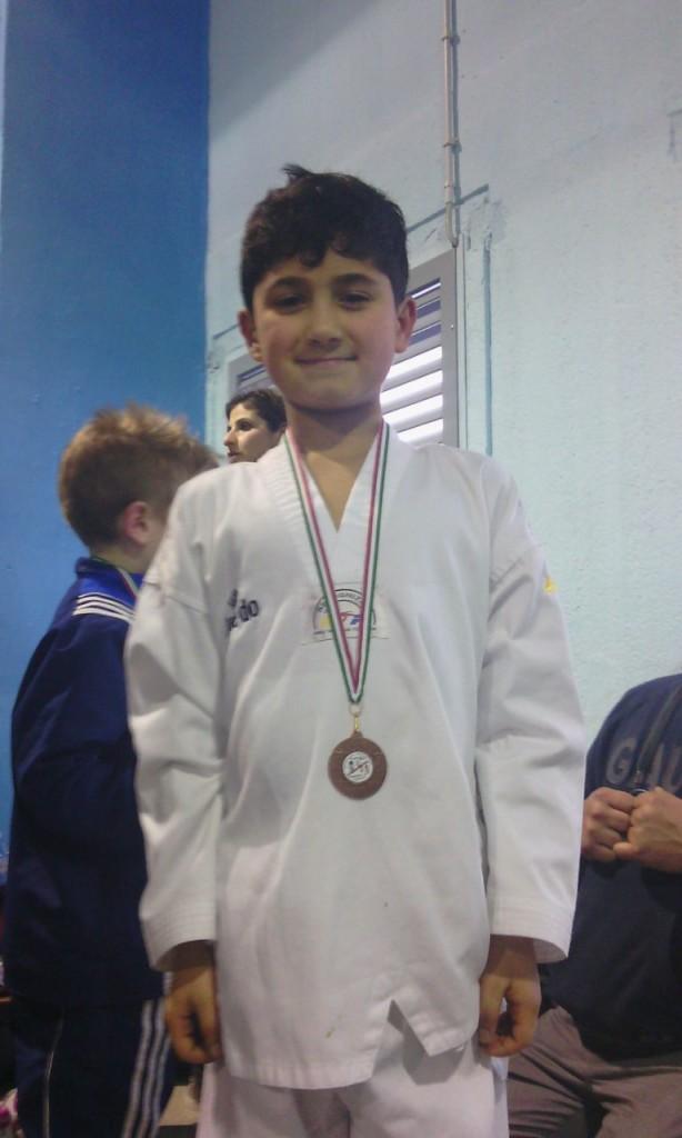 Nicolino e il suo bronzo!!!