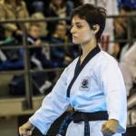 Maestra Lucia in azione al Campionato Interregionale di Martina Franca