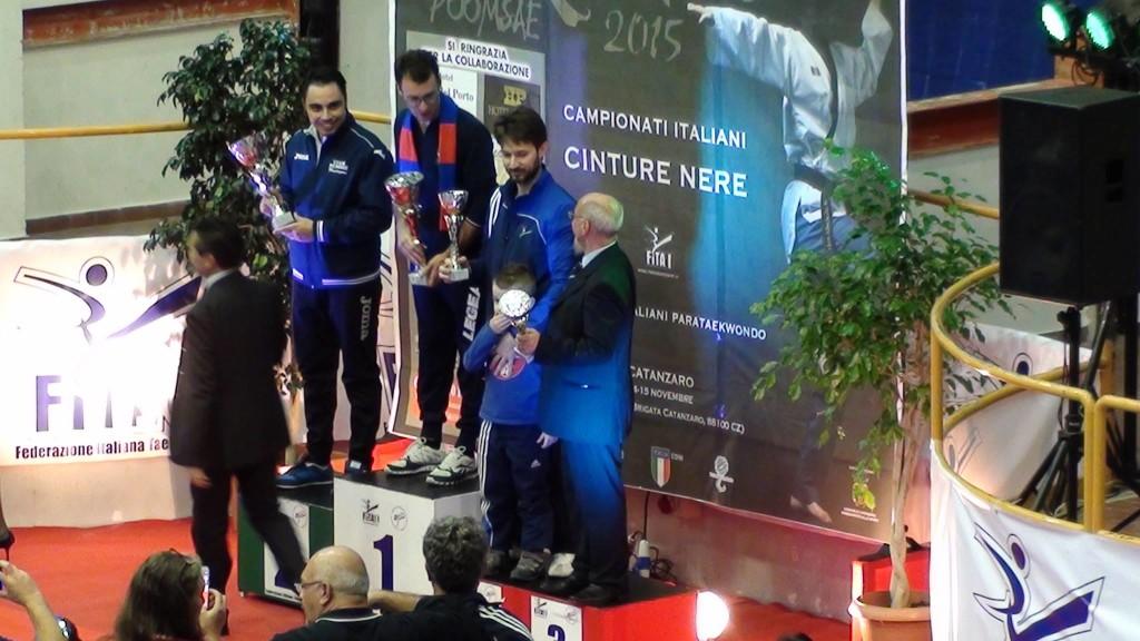 Taekwondo Mansé Società terza classificata categoria Junior