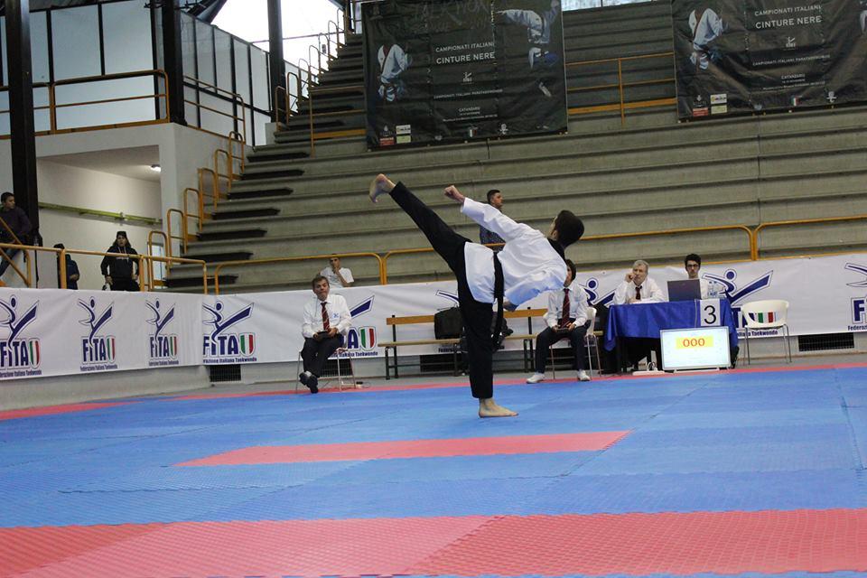 Gabriele Esposito in azione!! Ad Majora...allenando i propri sogni! Sempre!