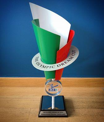 Dream Cup 2016 -Gara Nazionale a squadra regionale - premio in palio per la regione vincitrice