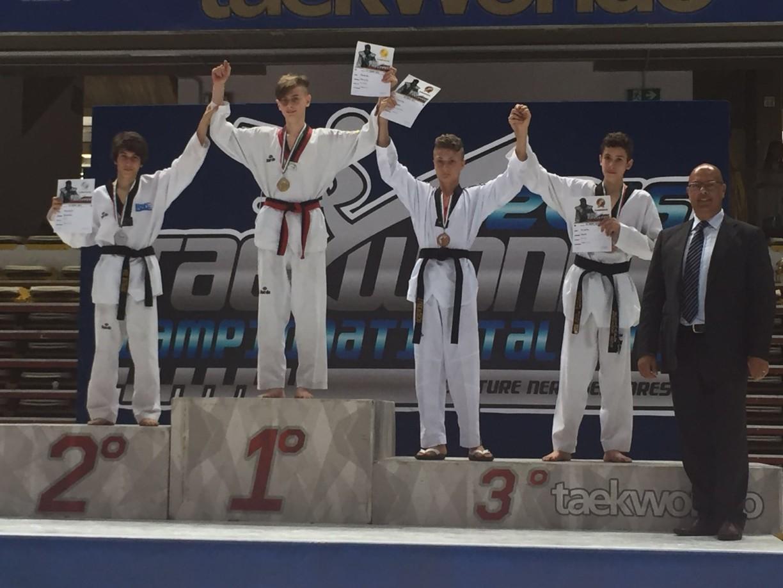 Riccardo Marzolla 1° Classificato al Torneo Nazionale Cadetti - Oroooooooooooooo!!!!