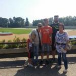 Oltre ai maestri e qualsiasi sport ...La famiglia è importante per un piccolo atleta e loro sono li a sostenerlo da vicino e da lontano :-)