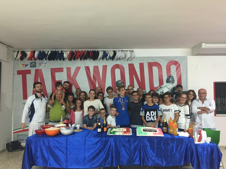La grande famiglia Taekwondo Mansé