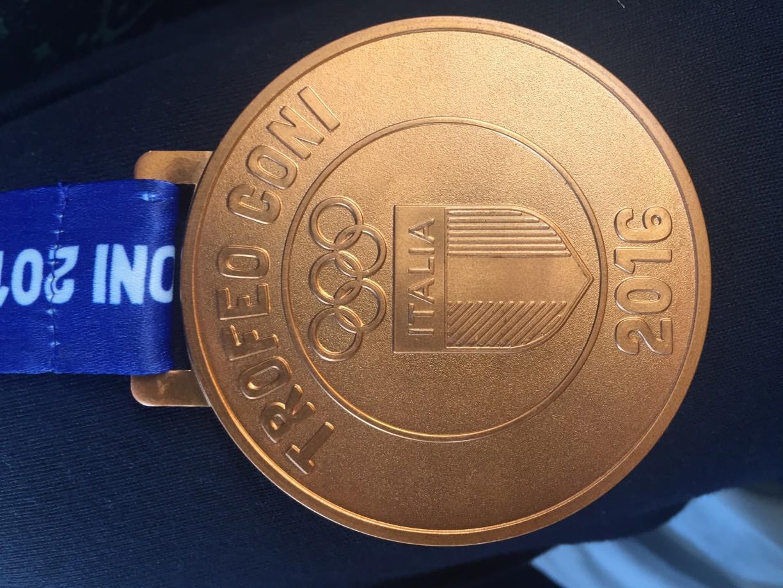 Una bella medaglia :-) fronte
