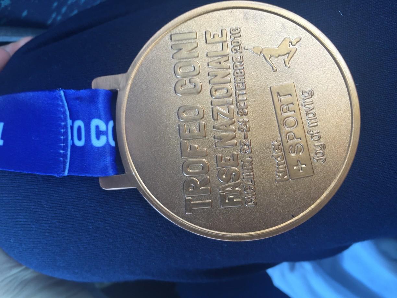 Una bella medaglia retro :-)
